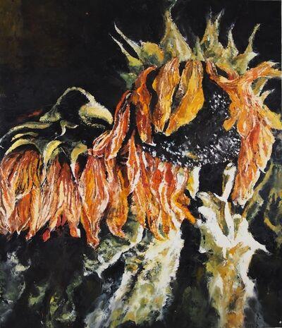 Philippe Cognée, 'Sunflowers 2', 2019