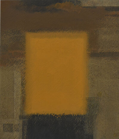 Katsuyoshi Inokuma, 'YELLOW IN BROWN Apr'18', 2018