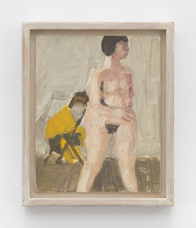 Fairfield Porter, 'Untitled [standing nude]'