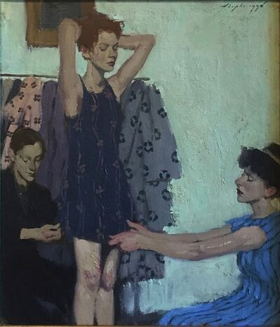 Malcolm T. Liepke, 'Pinning the Dress ', 1999