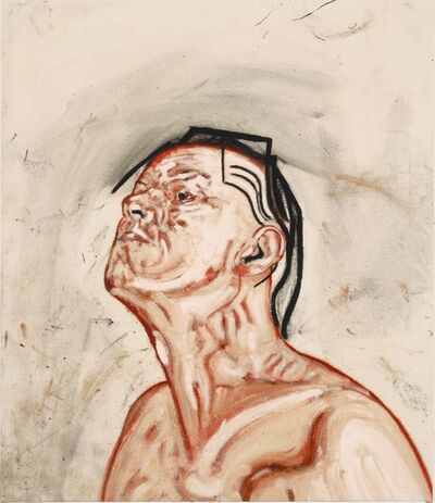 Tony Bevan, 'Self Portrait ', 1992