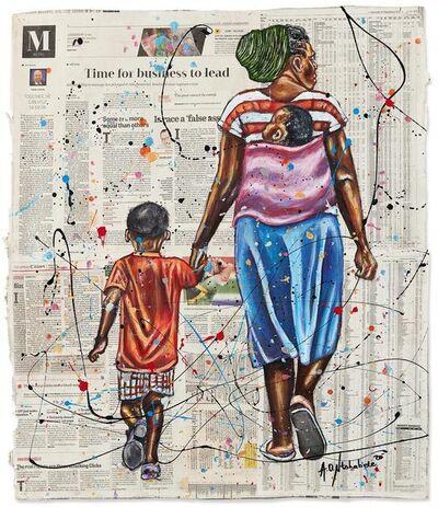 Andrew Ntshabele, 'The Greater Journey 1', 2020