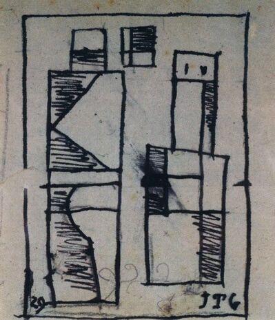 Joaquín Torres-García, 'Dos figuras abstractas', 1929