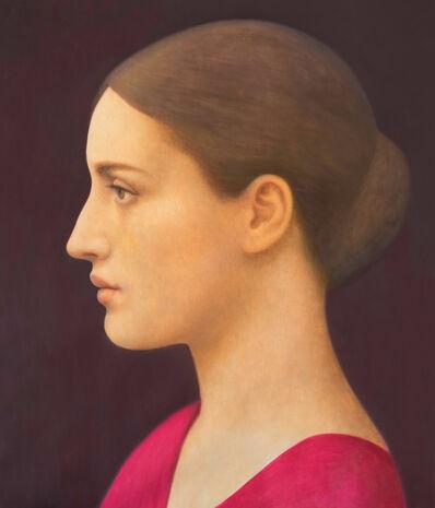 Alberto Gálvez, 'Perfil de mujer después de Julia Cameron', 2019