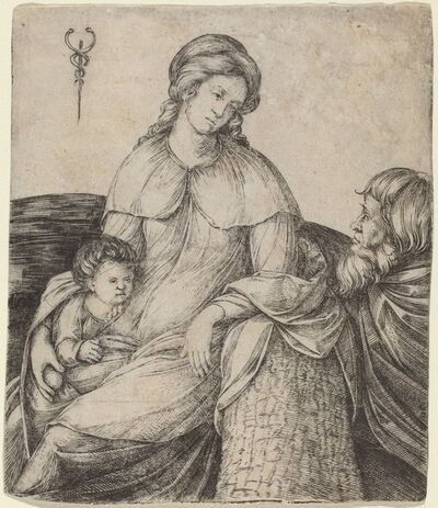 Jacopo de' Barbari, 'Holy Family', ca. 1508/1509