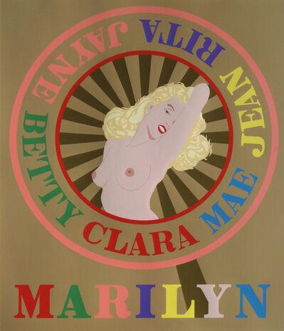 Robert Indiana, 'Marilyn', 2001