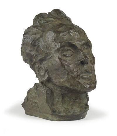 Egon Schiele, 'Selbstbildnis.', 1917 (cast later)