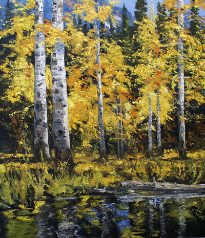 James Cook, 'Ute Aspen - September', 2021