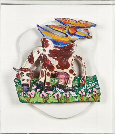 Red Grooms, 'Cow', 1967