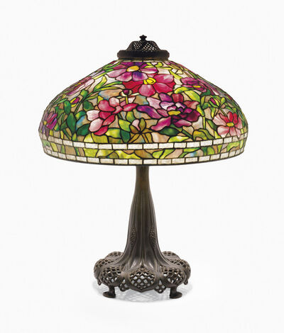 Tiffany Studios, 'A 'Peony' Table Lamp', circa 1910