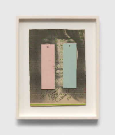 Ray Johnson, 'Untitled (To Gino From Shelley Duvall)', 1994