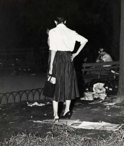Weegee, 'Girl With a Problem', 1940