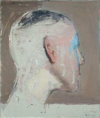 Alexander Tinei, 'Study for a head', 2017