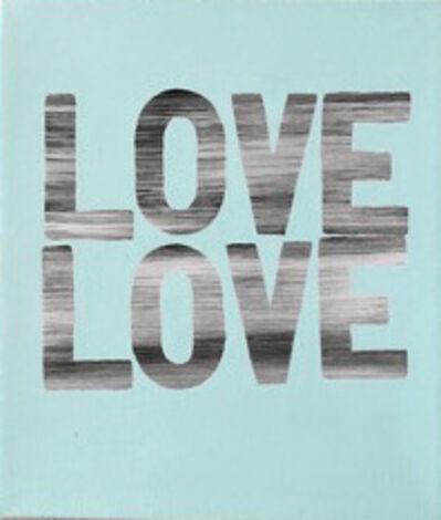 Matthew Heller, 'Love Love (Blue)', 2018