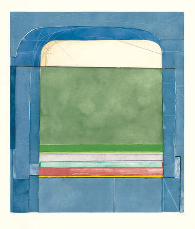 Richard Diebenkorn, 'Blue Surround', 1982