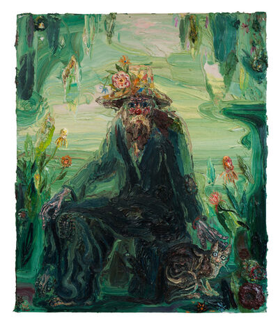 Allison Schulnik, 'Cemetery Boo #2', 2012