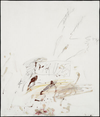 Cy Twombly, 'Muses', 1963