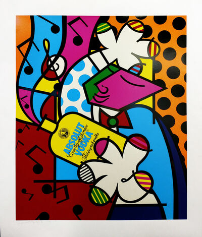 Romero Britto, 'ABSOLUT BRITTO II', 1993