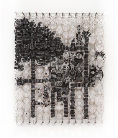 Jacob Hashimoto, 'Something of Stellar Influences', 2011