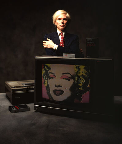 Carl Fischer, 'Andy Warhol with Marilyn', 1981