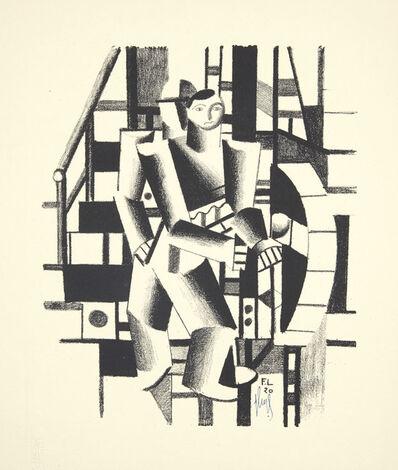 Fernand Léger, 'Composition aux deux Personnages, from Die Schaffenden, No. 4', 1920