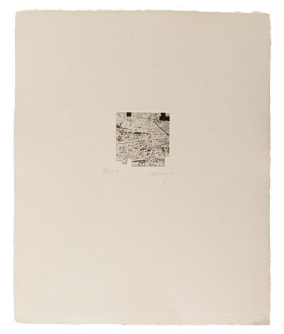 Eduardo Chillida, 'Clara Janés: La indetenible Quietud IV', 1998