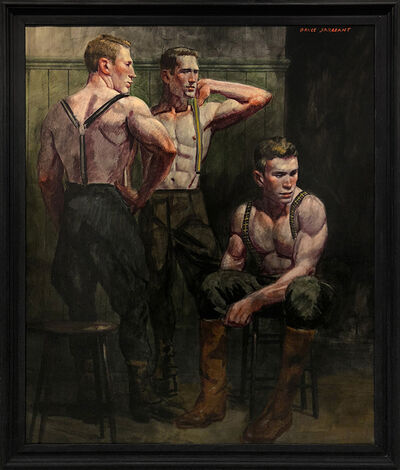 Mark Beard, '[Bruce Sargeant (1898-1938)] Dressing for a Morning Hunt', n.d.