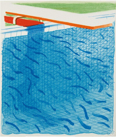 David Hockney, 'Paper Pool', 1980