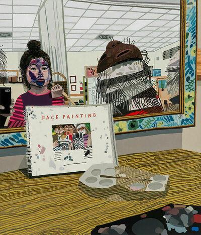 Jonas Wood, 'Face Painting', 2018
