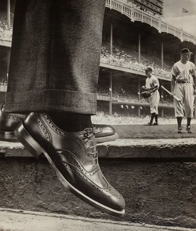W. Grancel Fitz, 'Shoe Ad and New York Yankees', circa 1930-1949