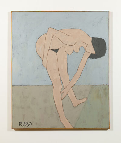 Michele Russo, 'Untitled (nude bending down)', ca. 1970
