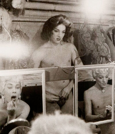 Diane Arbus, 'Female Impersonators in Mirrors, NYC', 1985