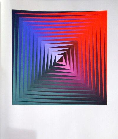 Victor Vasarely, 'Vonal Alto', 1974