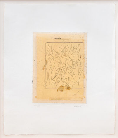 Manolo Valdés, 'De Cranach a Lichtenstein IX', 2002