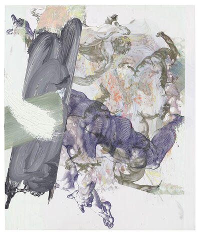 Pia Fries, 'corpus transludi A2', 2017