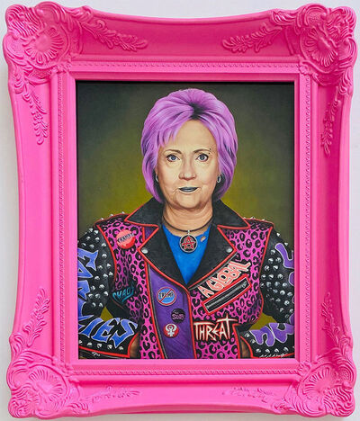 Scott Scheidly, 'Punk Hillary', 2020