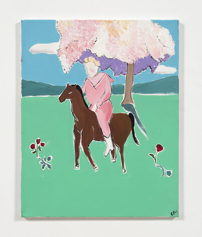 Claire Milbrath, 'Horsey', 2017