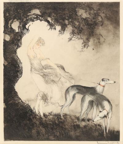 Louis Icart, 'Gust of Wind (Coup de vent)', 1925