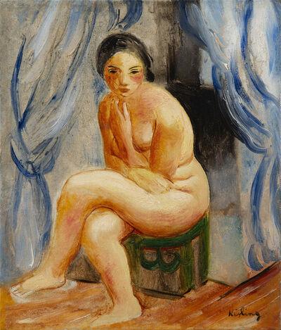 Moise Kisling, 'Nu assis', 1923