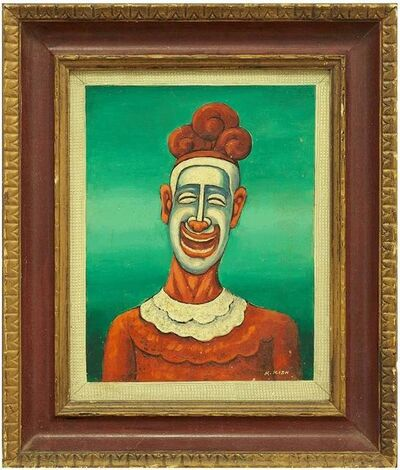 Maurice Kish, 'The Clown N.2 (In Green)', 20th Century