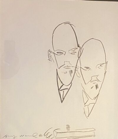 Andy Warhol, 'Untitled(Double Lenin)', 1986