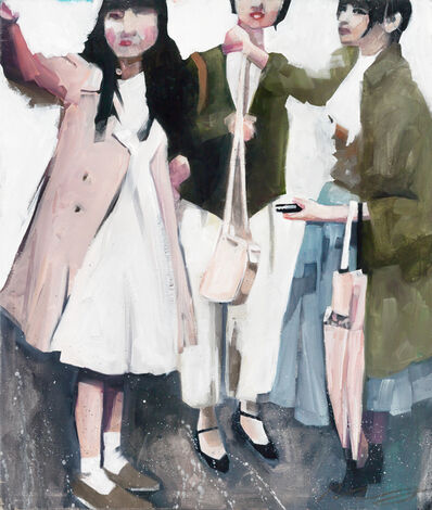 Ruth Shively, 'Girls Shopping in Japan', 2016