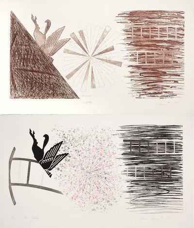 James Rosenquist, 'Star Ladder, State I & II', 1978