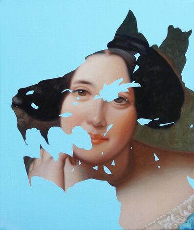 Lino Lago, ' Pintura sobre pintura (Frederico Madrazo - Condeza de Viches)', 2018