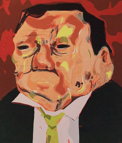 Dana Schutz, 'Poisoned Man', 2006