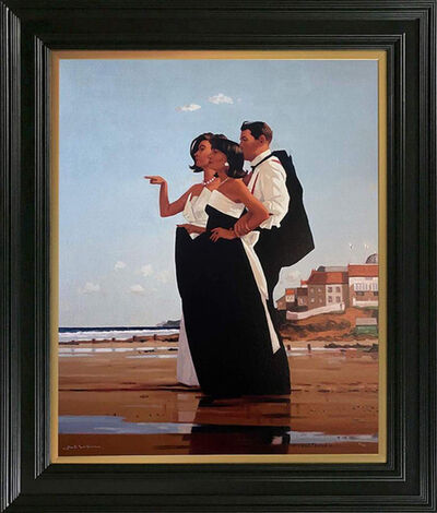 Jack Vettriano, 'The Missing Man II (Signed Limited Edition Print)', 2020