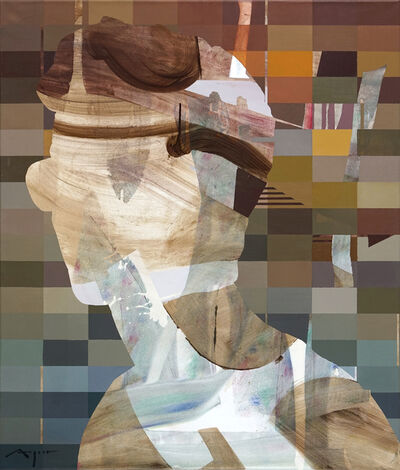 Michael Azgour, 'Portrait with Glasses', 2021