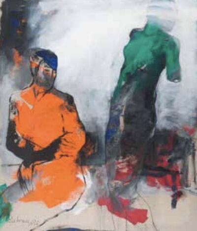 Bahram Hajou, 'Atelierszene', 2020