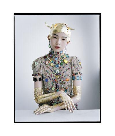 Tim Walker, 'Xiao Wen in gold leaf and gemstones, New York', 2011