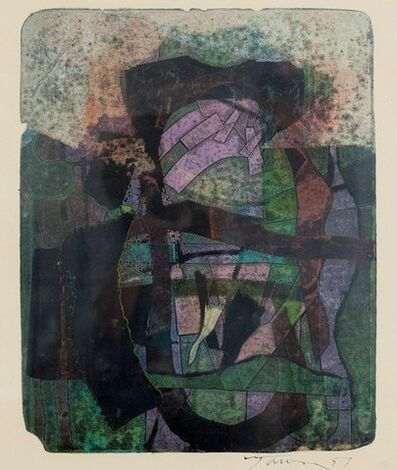 Harold Town, 'Single Autographic Print', 1957